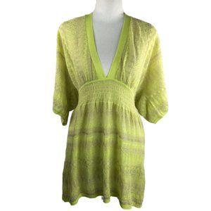 Victoria's Secret Yellow Knit Top Size M/L